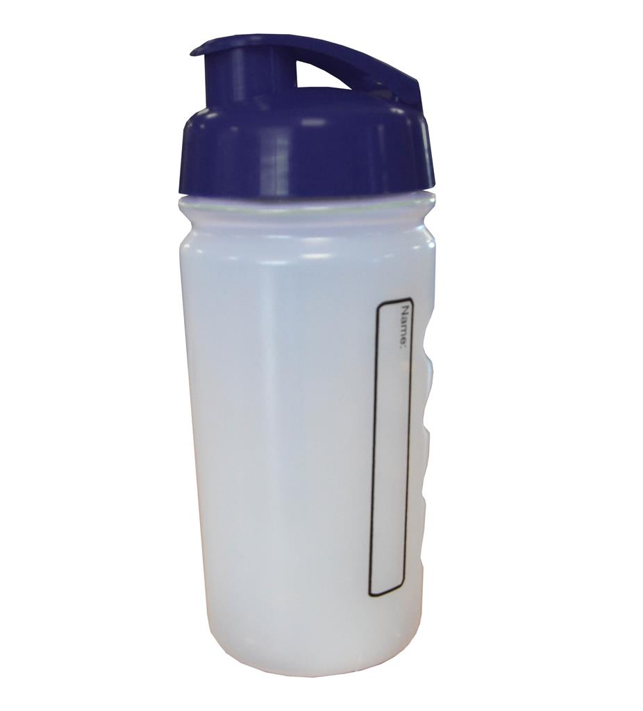 INFANT BOTTLE WITH FLIP-TOP LID