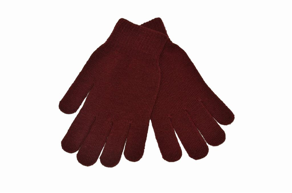 STRETCH GLOVES - MAROON