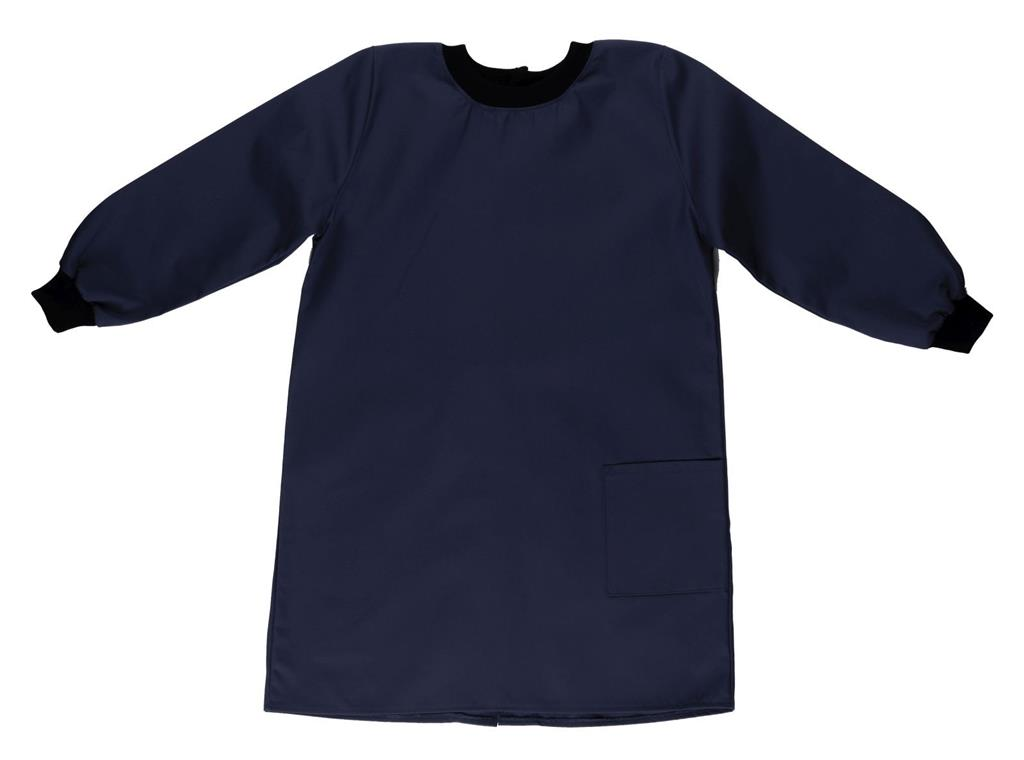 NAVY PAINTING SMOCK