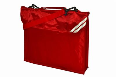 JUNIOR DESPATCH BAG - SHINY