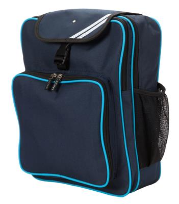 CONTRAST TRIM JUNIOR BACKPACK