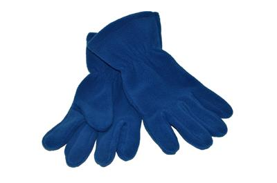 FLEECE GLOVES - ROYAL